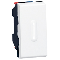 Элемент дизайна и функциональный элемент для комплектации электровыключателя света.
